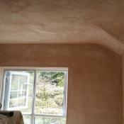 Completed Plastering